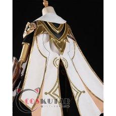 画像5: 原神 Genshin 主人公 空 コスプレ衣装 (5)