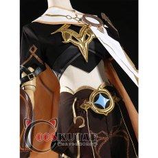 画像4: 原神 Genshin 主人公 空 コスプレ衣装 (4)