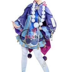 画像1: 原神 Genshin 七七 コスプレ衣装 (1)