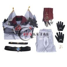 画像16: 原神 Genshin タルタリヤ 公子 コスプレ衣装 (16)