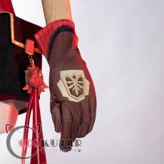 画像9: 原神 Genshin アンバー コスプレ衣装 (9)