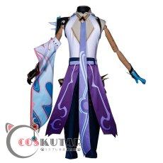 画像4: 原神 Genshin 魈 ショウ コスプレ衣装 (4)