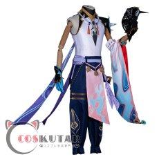 画像3: 原神 Genshin 魈 ショウ コスプレ衣装 (3)