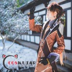 画像3: 原神 Genshin 鐘離 コスプレ衣装 (3)