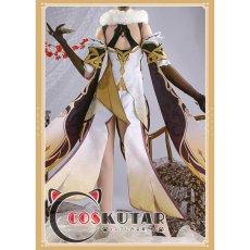 画像4: 原神 Genshin 凝光 コスプレ衣装 (4)