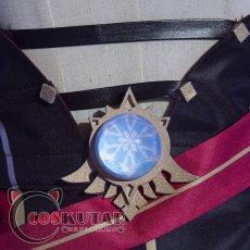 画像11: 原神 Genshin ロサリア コスプレ衣装 (11)