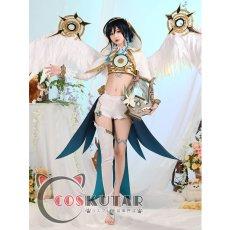画像3: 原神 Genshin 風神 バルバトス コスプレ衣装 (3)