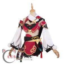 画像4: 原神 Genshin 煙緋 ヤンフェイ コスプレ衣装 (4)