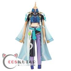 画像2: 原神 Genshin 白朮 コスプレ衣装 (2)
