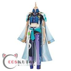 画像4: 原神 Genshin 白朮 コスプレ衣装 (4)