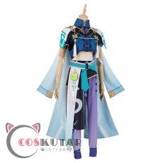 画像3: 原神 Genshin 白朮 コスプレ衣装 (3)