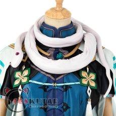 画像6: 原神 Genshin 白朮 コスプレ衣装 (6)