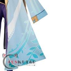 画像17: 原神 Genshin 白朮 コスプレ衣装 (17)