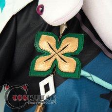 画像8: 原神 Genshin 白朮 コスプレ衣装 (8)