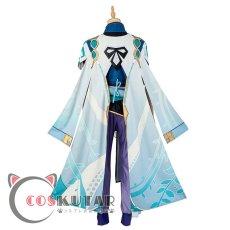 画像5: 原神 Genshin 白朮 コスプレ衣装 (5)