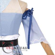画像16: 原神 Genshin 水着 海風の夢 ジン コスプレ衣装 (16)