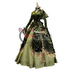画像1: 第五人格 IdentityV スカーレット 血の女王 マリー コスプレ衣装 (1)