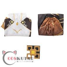 画像15: 原神 Genshin 岩神 モラクス コスプレ衣装 (15)