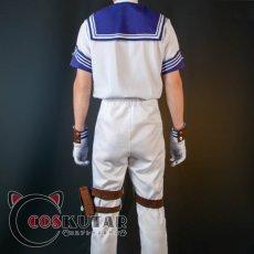 画像4: 第五人格 IdentityV CP28 遠航の日 囚人 ルカ・バルサー コスプレ衣装 (4)