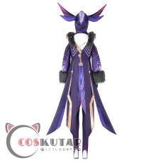 画像4: 原神 Genshin ファデュイ 雷蛍術師 コスプレ衣装 (4)