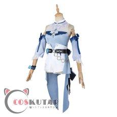 画像4: 原神 Genshin 水着 海風の夢 ジン コスプレ衣装 修正版 (4)