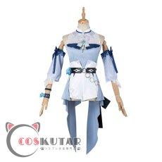 画像2: 原神 Genshin 水着 海風の夢 ジン コスプレ衣装 修正版 (2)