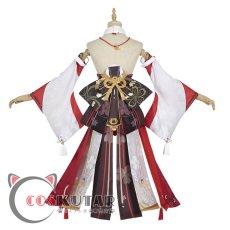 画像4: 原神 Genshin 八重神子 コスプレ衣装 (4)