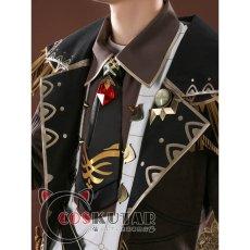 画像5: 原神 Genshin ディルック コスプレ衣装 (5)