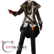 画像2: 原神 Genshin ディルック コスプレ衣装 (2)