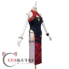 画像3: Fate/Grand Order FGO 酒呑童子 チャイナドレス コスプレ衣装 (3)