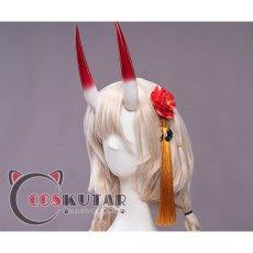 画像14: Fate/Grand Order FGO 酒呑童子 チャイナドレス コスプレ衣装 (14)
