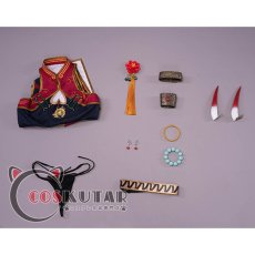 画像19: Fate/Grand Order FGO 酒呑童子 チャイナドレス コスプレ衣装 (19)