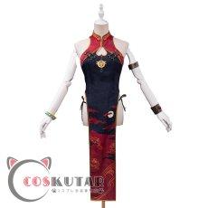 画像2: Fate/Grand Order FGO 酒呑童子 チャイナドレス コスプレ衣装 (2)