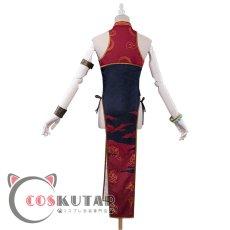 画像4: Fate/Grand Order FGO 酒呑童子 チャイナドレス コスプレ衣装 (4)