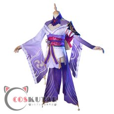 画像3: 原神 Genshin バアル 雷電将軍 コスプレ衣装 (3)