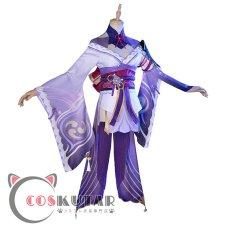 画像2: 原神 Genshin バアル 雷電将軍 コスプレ衣装 (2)