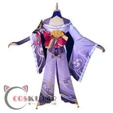 画像4: 原神 Genshin バアル 雷電将軍 コスプレ衣装 (4)