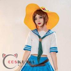 画像1: 第五人格 IdentityV セーラー服 庭師 エマ・ウッズ コスプレ衣装 (1)