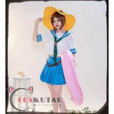 画像2: 第五人格 IdentityV セーラー服 庭師 エマ・ウッズ コスプレ衣装 (2)