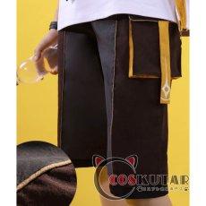 画像7: 原神 Genshin 桂林コラボドキュメンタリー 空 主人公 旅人 コスプレ衣装 (7)
