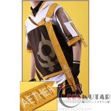 画像6: 原神 Genshin 桂林コラボドキュメンタリー 空 主人公 旅人 コスプレ衣装 (6)