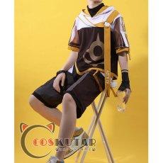 画像3: 原神 Genshin 桂林コラボドキュメンタリー 空 主人公 旅人 コスプレ衣装 (3)