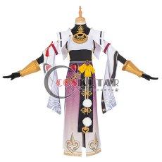 画像1: 原神 Genshin 九条裟羅 コスプレ衣装 (1)
