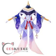 画像4: 原神 Genshin 珊瑚宮心海 コスプレ衣装 (4)