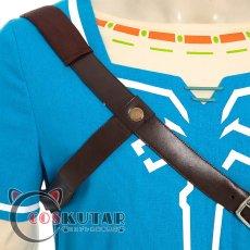 画像7: ゼルダの伝説 ブレスオブザワイルド リンク コスプレ衣装 (7)