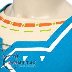 画像6: ゼルダの伝説 ブレスオブザワイルド リンク コスプレ衣装 (6)