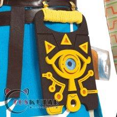 画像10: ゼルダの伝説 ブレスオブザワイルド リンク コスプレ衣装 (10)