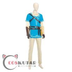 画像3: ゼルダの伝説 ブレスオブザワイルド リンク コスプレ衣装 (3)