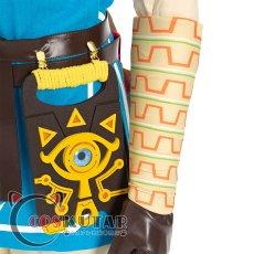 画像14: ゼルダの伝説 ブレスオブザワイルド リンク コスプレ衣装 (14)