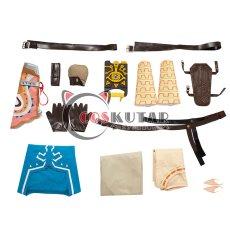 画像18: ゼルダの伝説 ブレスオブザワイルド リンク コスプレ衣装 (18)